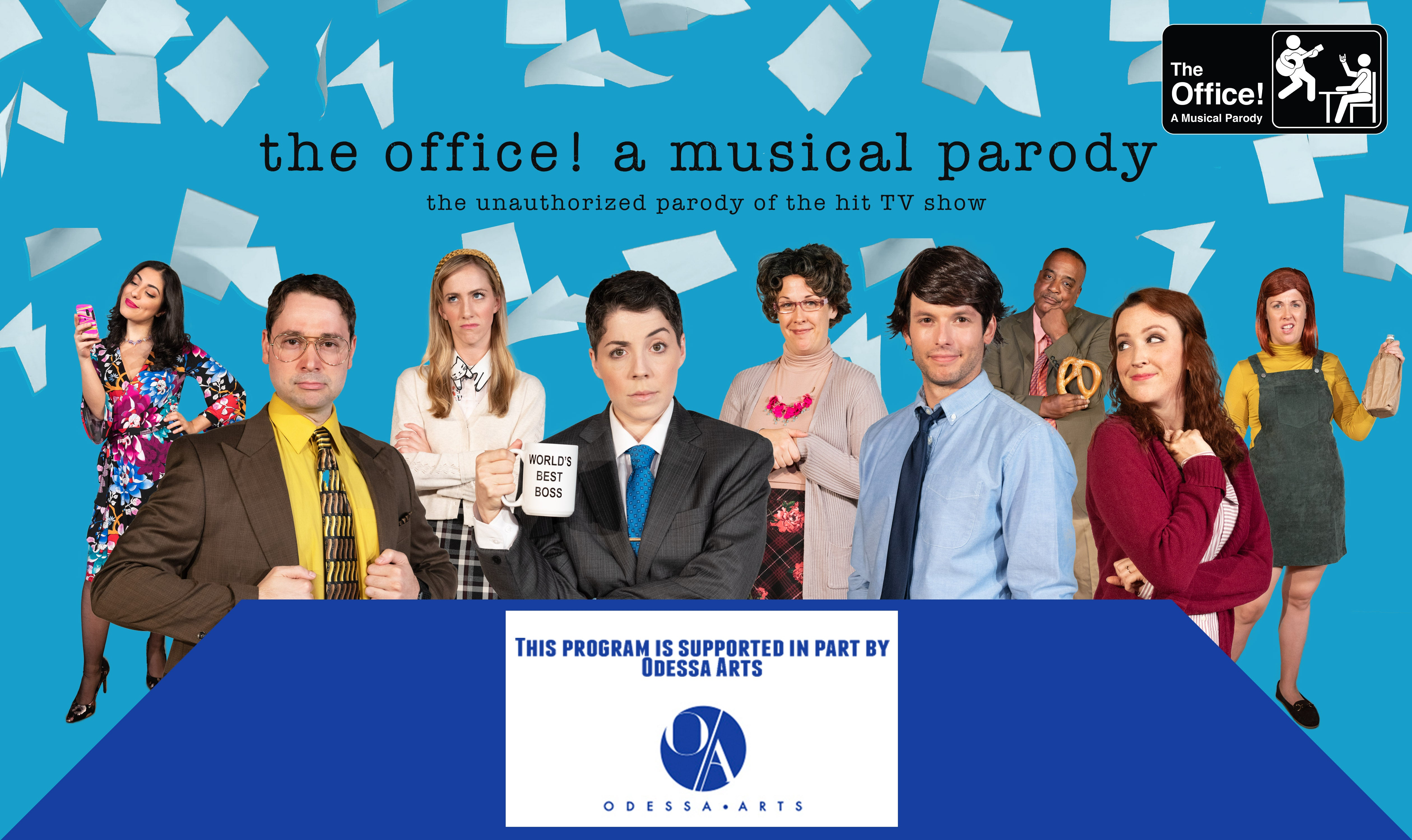 POSTPONED - The Office! A Musical Parody
