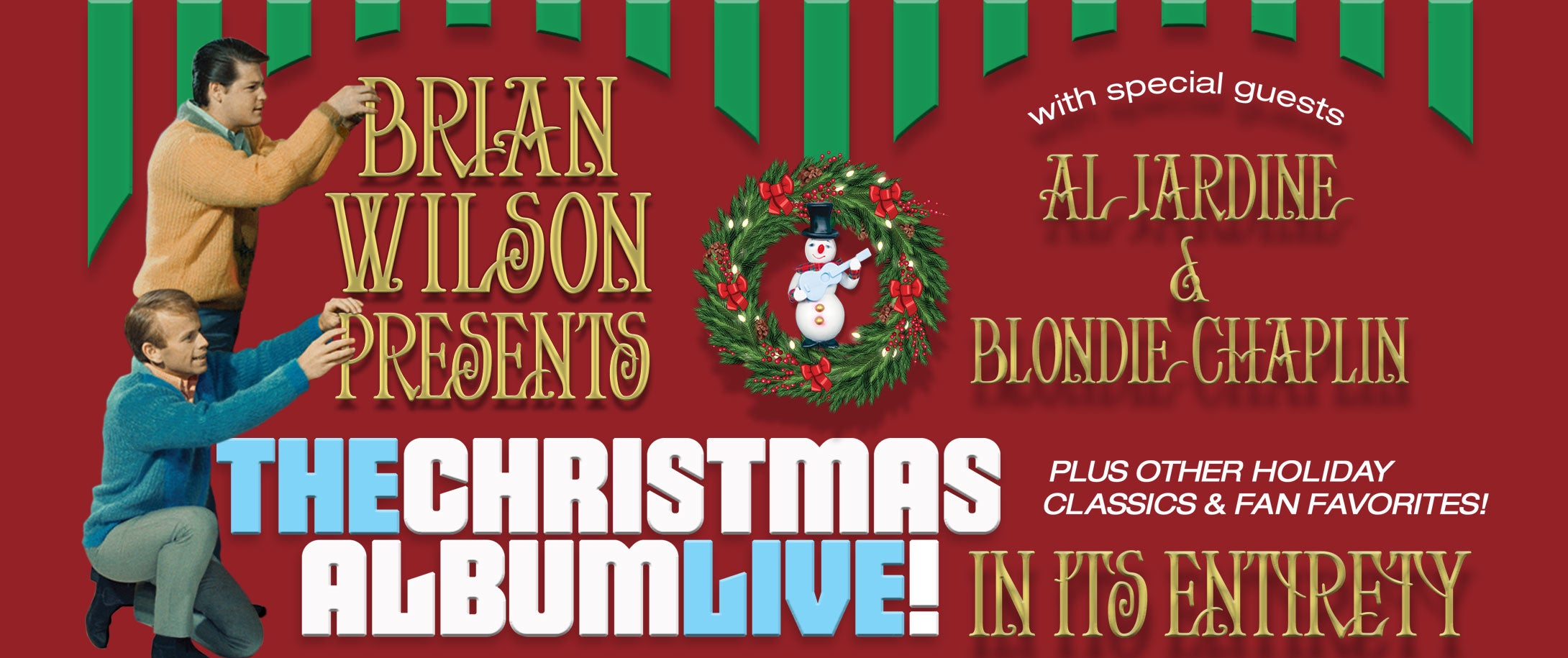 Brian Wilson Presents: The Christmas Album Live