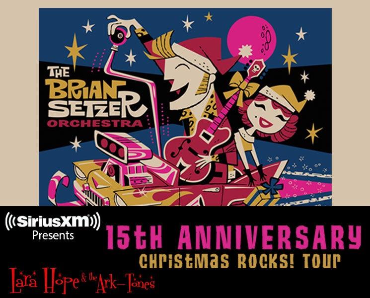 Brian Setzer Christmas.Siriusxm Presents The Brian Setzer Orchestra S 15th