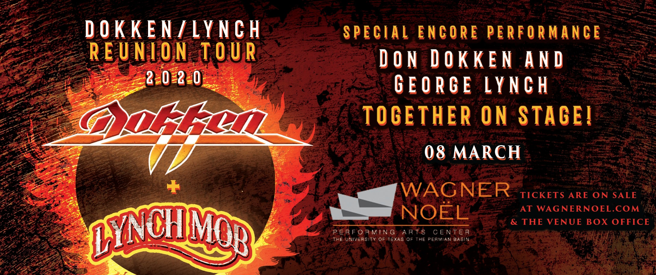 Dokken / Lynch 2020 Reunion Tour