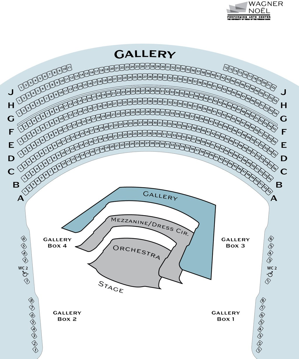 GALLERY SEATING