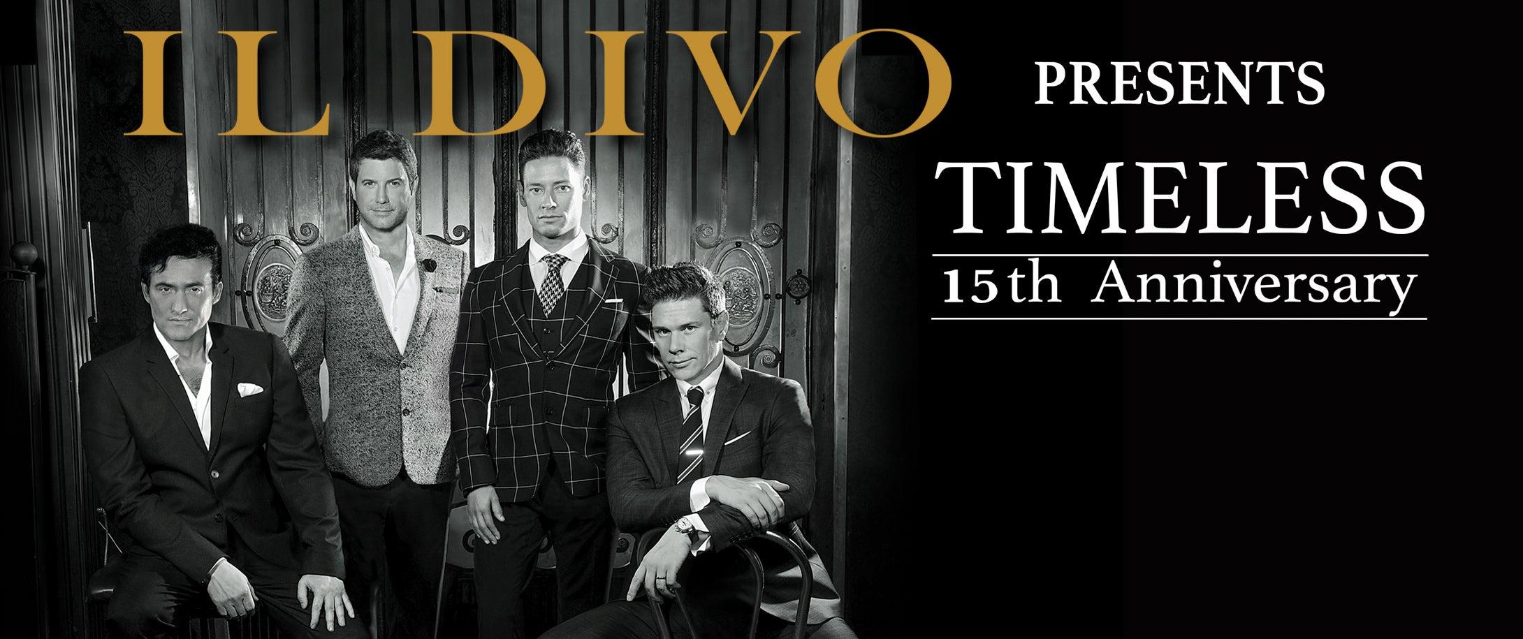Il Divo: Timeless Tour