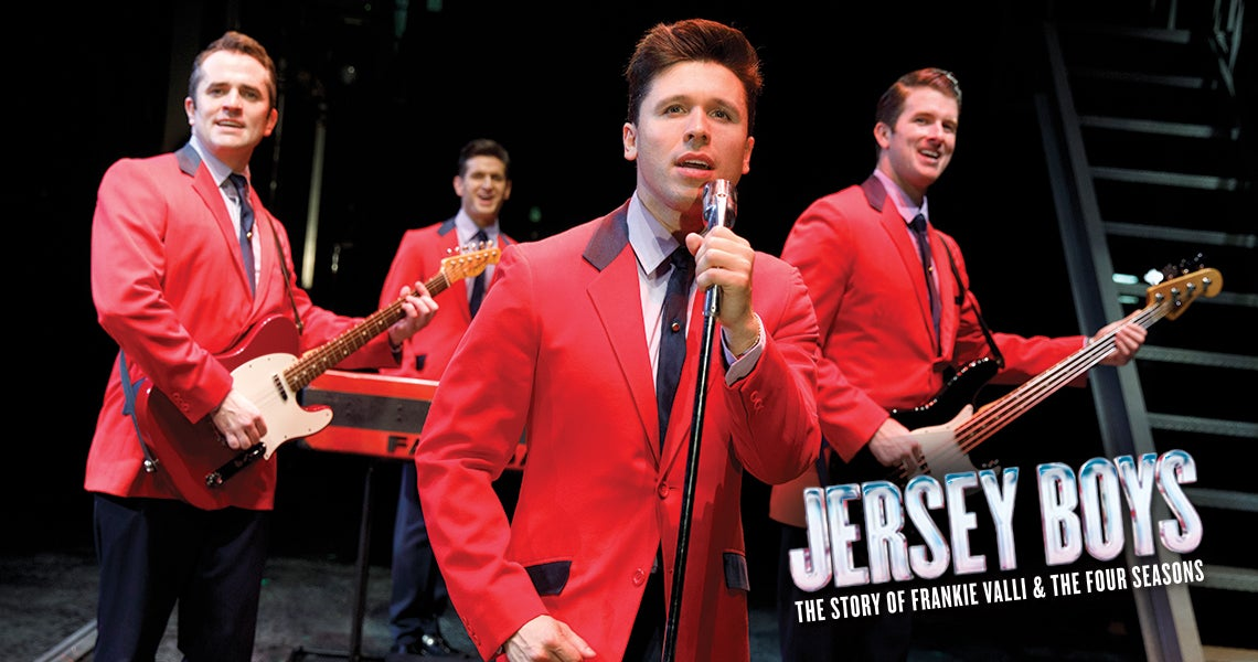 Jersey Boys - The Story of Frankie Valli and The Four Seasons