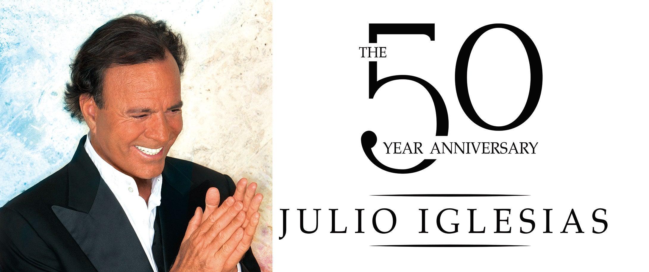 Julio Iglesias The 50th Anniversary Tour