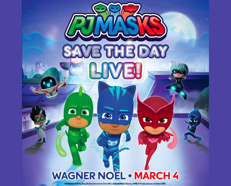 More Info for THE PJ MASKS ARE BACK WITH ALL-NEW TOUR – 'PJ MASKS LIVE! SAVE THE DAY' –   TRAVELING COAST TO COAST ACROSS NORTH AMERICA IN 2019