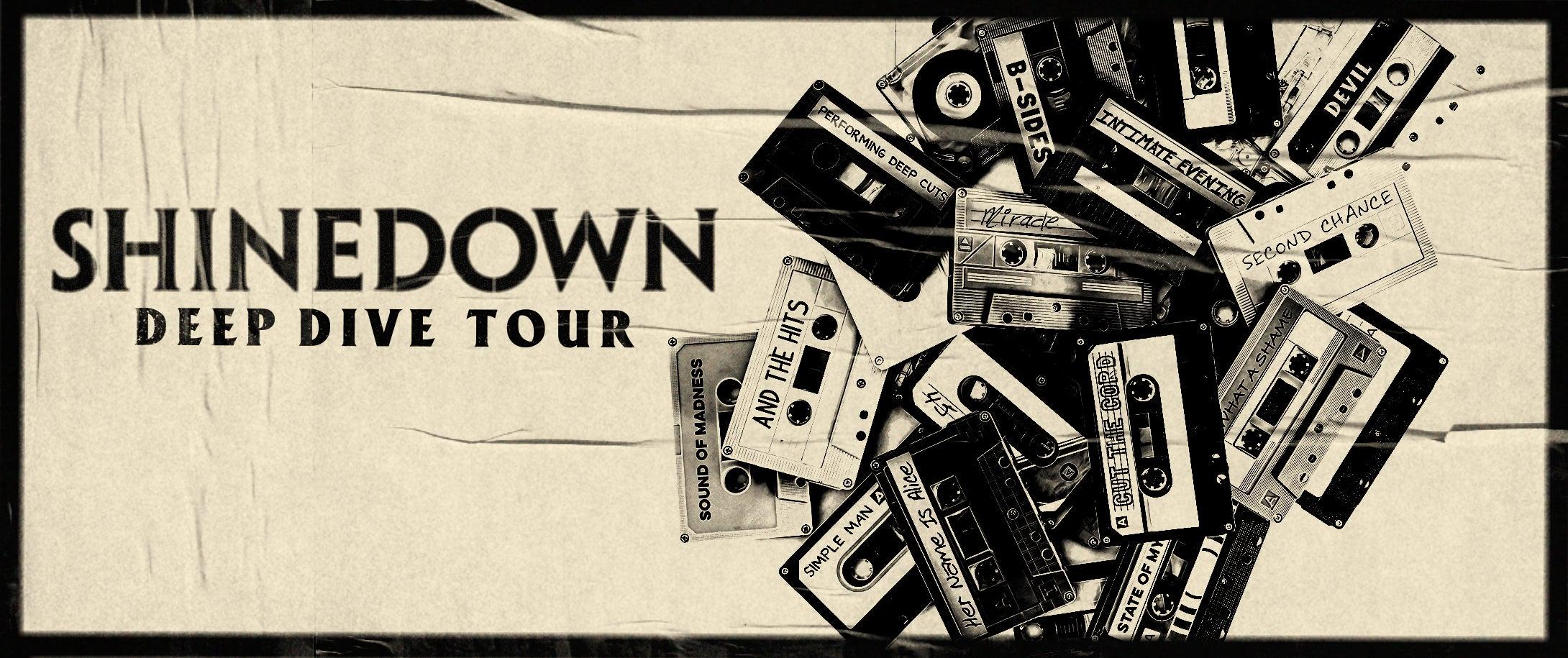CANCELED - Shinedown: Deep Dive