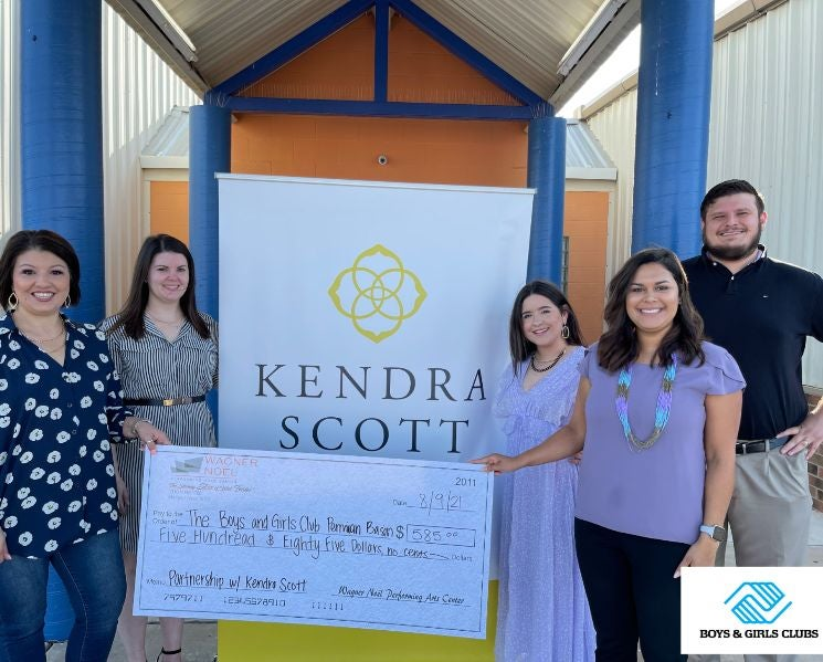 Wagner Noël PAC Partners with Midland Kendra Scott Store to Give Back $585 to the Boys & Girls Clubs of the Permian Basin