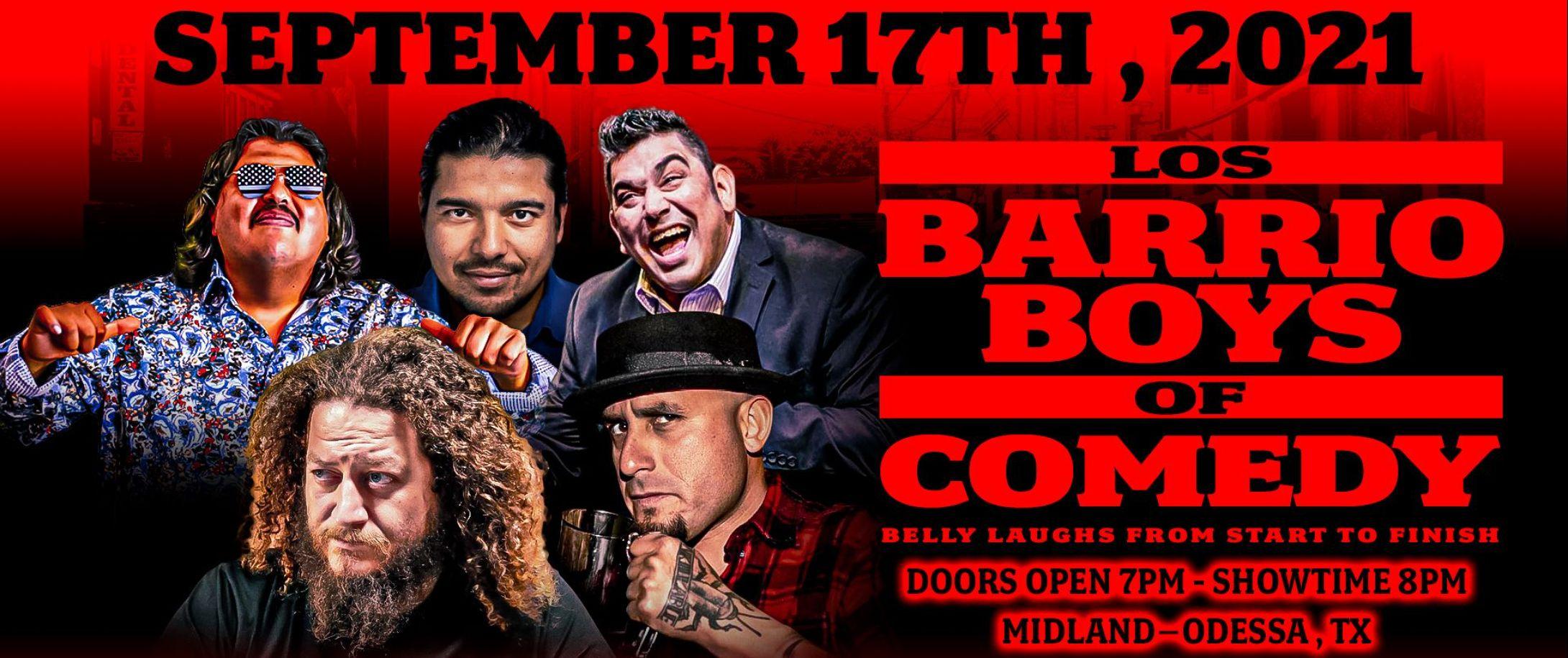 Raymond Orta y Los Barrio Boys of Comedy